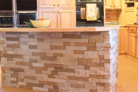 Tile Top Kitchen Island by Kitchen Cool Stone Flooring For Amazing Kitchen With Large