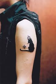 best 25 small cat tattoos ideas on pinterest cat tattoo cat