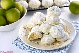 lime coconut snowball cookies over 100 more christmas cookies