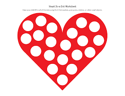 do a dot worksheets free worksheets library download and print