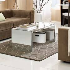 Mirror Living Room Tables Mirror Coffee Table Home Touch Modern Home Furniture