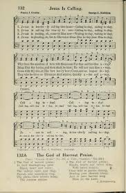 the god of harvest praise hymnary org