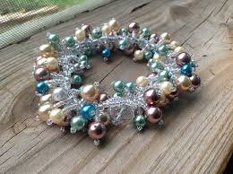 diy pearl bead bracelet images Colorful pearl bracelet jpg