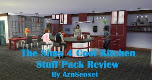 aznsensei u0027s sims 4 reviews the sims 4 cool kitchen stuff pack review