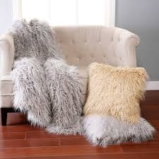 faux fur throw blanket home design by fuller