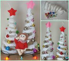 crochet tree free patterns for decoration