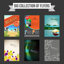 fliers templates big collection of flyers templates or brochures with creative