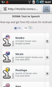text to speech engine apk ivona text to speech hq 1 6 55 617 apk android