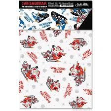 reversible christmas wrapping paper chrismukkah reversible gift wrap archie mcphee co