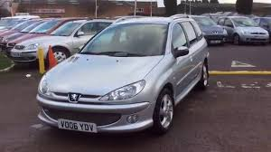 peugeot co 2006 peugeot 206 sw 1 6 hdi at www gullwingcarsales co uk youtube
