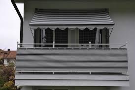 sichtschutz balkon grau balkonsichtschutz anthrazit grau in 2 höhen otto