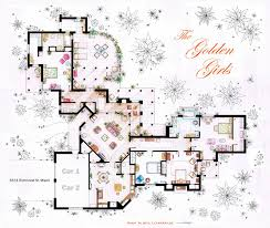 the golden girls house floorplan v 1 by nikneuk deviantart com on