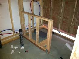 Building A Bathroom Shower How To Finish A Basement Bathroom Before And After Pictures