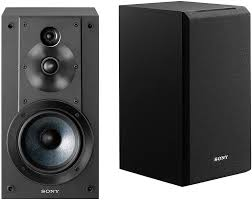 sony speakers for home theater sony black 3 way bookshelf speakers ss cs5
