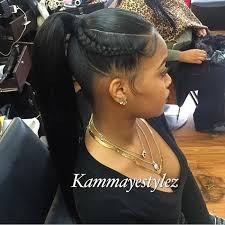 prett hair weave in chicago voiceofhair stylists styles on instagram love this ponytail by