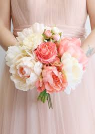 ranunculus bouquet blush coral peony ranunculus bouquet diy wedding ideas afloral
