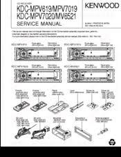 kenwood kdc mpv7019 manuals