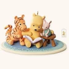winnie the pooh once upon a story 2008 hallmark ornament my