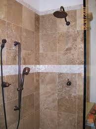 Bathroom Tiled Showers Ideas by Tiled Bathroom Shower Ceramic Tiled Shower With Iridescent Glass