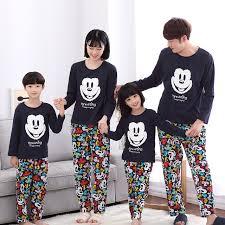 aliexpress buy family matching pajamas mickey