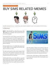 The Sims Memes - ken bone legend interview january