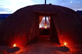 traditional navajo dome rental in wilderness near phoenix arizona