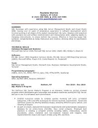 Sample Sql Server Dba Resume by Sql Dba Resume Sample