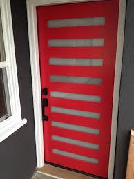 Modern Door Trim Red Door Modern Door Red Icon Kenihan Development White Trim