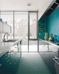 cuisine bleu turquoise idée décoration maison en photos 2018 bleu turquoise crédence
