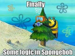 Funny Spongebob Memes - funny spongebob memes finally some logic in spongebob graphics
