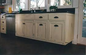 Distressed Black Kitchen Cabinets by Distressed White Kitchen Cabinets 3349