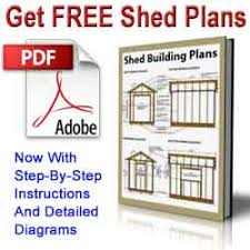 10 12 lean to storage shed plans u2013 how to construct a slant roof shed