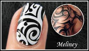 tattoo nail art designs easy how to tribal artist graffiti konad