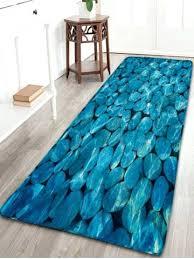 Disney Bath Rug Mermaid Bath Rug Pebbles Pattern Flannel Bathroom Rug Disney