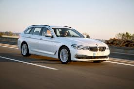 bmw 5 series touring 2017 driving u0026 performance parkers
