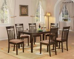 6 pc dinette kitchen dining room set table w 4 wood chair 5 pc oval dinette kitchen dining set table w 4 wood seat dinette