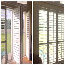 white neoulux dual privacy shades with window casing yelp