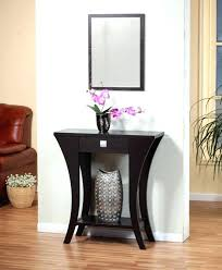 hallway table and mirror sets entry hall table medium size of console table and mirror sets