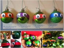 looking mutant turtles ornaments