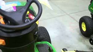john deere d 170 lawn tractor at lowes youtube