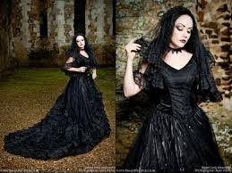 order the black gothic wedding dress by sinister