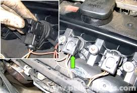 bmw e60 5 series spark plug and ignition coil replacement 2003