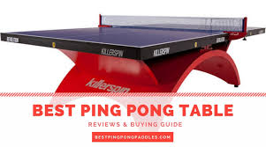 compare ping pong tables best ping pong tables reviews top 8 ping pong tables 2018