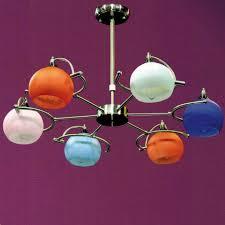 Orange Glass Chandelier Brizzo Lighting Stores 28