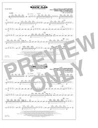 Waving Flag Artist Wavin U0027 Flag Snare Drum Sheet Music At Stanton U0027s Sheet Music