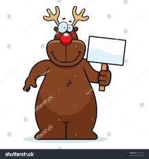 reindeer sign stock vector 46015555 shutterstock