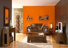 22 modern interior design ideas blending brown and orange colors