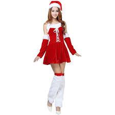 womens santa costume womens lace up santa christmas party costume 22 liked
