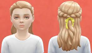 child bob haircut sims 4 pickypikachu child hairstyle for sims 4 sims 4 pinterest