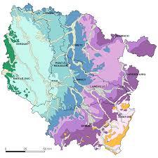 France Physical Map by Lorraine Geologic Map U2022 Mapsof Net